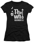Juniors: The Who- Maximum R&B T-shirts