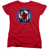 Womans: The Who- Logo T-shirts