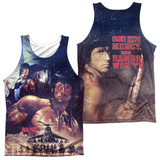 Tank Top: Rambo Iii- No Mercy (Front/Back) Tank Top
