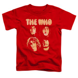 Toddler: The Who- Band Mates Shirt