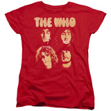 Womans: The Who- Band Mates Shirt