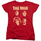 Womens: The Who- Band Mates Shirt