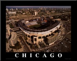 Chicago White Sox - U.S. Cellular Field Mounted Print by Mike Smith