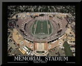 Baltimore Ravens Memorial Stadium First Game Sept 1, c.1996 Sports Mounted Print by Mike Smith