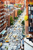 Manhattan City - In the Style of Oil Painting Giclee Print by Philippe Hugonnard