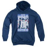 Youth Hoodie: The Who- Goldhawk Club Poster Pullover Hoodie