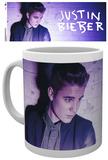 Justin Bieber Purple Light Mug Krus