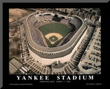 New York Yankees Old Yankee Stadium Opening Day April 7, c.1992 Sports Mounted Print by Mike Smith