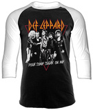 Def Leppard - Pour Some Sugar (Raglan) T-shirts