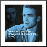 James Dean Mounted Print