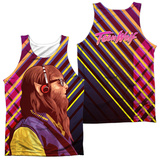 Tank Top: Teen Wolf- Wolf Rays (Front/Back) Tank Top