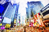 Times Square Colors - In the Style of Oil Painting Giclee Print by Philippe Hugonnard