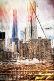 Towers - In the Style of Oil Painting Giclee Print by Philippe Hugonnard