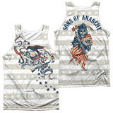 Tank Top: Sons Of Anarchy- Crow And Stars (Front/Back) Tank Top