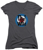 Juniors: The Who- Logo V-Neck T-shirts