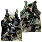 Tank Top: Batman- Catch (Front/Back) Tank Top
