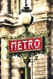 Metro Paris Reproduction procédé giclée par Philippe Hugonnard