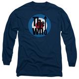 Long Sleeve: The Who- Logo Long Sleeves
