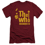 The Who- Maximum R&B (Slim Fit) T-shirts