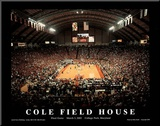 University of Maryland Cole Field House Final Game March 3 2002 NCAA Mounted Print by Mike Smith