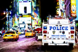 Police Dept NY Giclee Print by Philippe Hugonnard