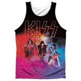 Tank Top: Kiss- Colored Smoke Tank Top