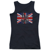 Juniors Tank Top: The Who- Flag Logo Womens Tank Tops