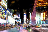 Times Square NYC Giclee Print by Philippe Hugonnard
