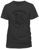 Harry Potter - Distressed Hogwarts Crest (slim fit) - Tişört