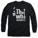 Long Sleeve: The Who- Maximum R&B Long Sleeves