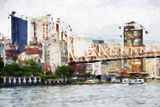 Ed Koch - In the Style of Oil Painting Giclee Print by Philippe Hugonnard