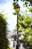 Parisian Lamppost Giclee Print by Philippe Hugonnard
