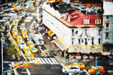 City Taxis II - In the Style of Oil Painting Giclee Print by Philippe Hugonnard
