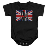 Infant: The Who- Flag Logo Onesie Infant Onesie