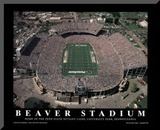 Penn State Nittany Lions Beaver Stadium NCAA Sports Mounted Print by Mike Smith