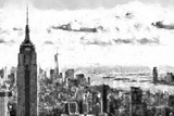 NY Cityscape Giclee Print by Philippe Hugonnard
