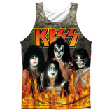 Tank Top: Kiss- Through The Fire Tank Top