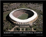 Washington Redskins RFK Memorial Stadium Sports Mounted Print by Mike Smith