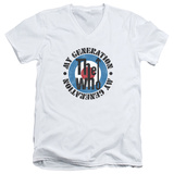 The Who- My Generation Distressed V-Neck T-Shirt