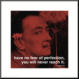 Dali: Perfection Mounted Print