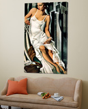 Portrait of Mrs Allan Bott Posters by Tamara De Lempicka
