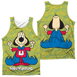 Tank Top: Underdog- Flexing (Front/Back) Tank Top