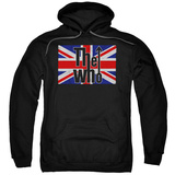 Hoodie: The Who- Flag Logo Pullover Hoodie