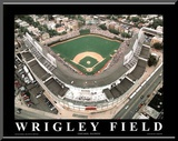 Chicago Cubs Wrigley Field Sports Mounted Print by Mike Smith