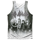 Tank Top: Def Leppard- The Band Tank Top