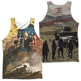 Tank Top: Army- Values (Front/Back) Tank Top
