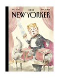 The New Yorker Cover - May 23, 2016 Regular Giclee Print by Barry Blitt
