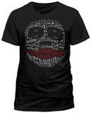Batman The Dark Knight - Joker Laughing Profile T-Shirt