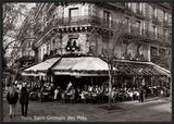Saint-Germain des Pres, Paris Posters by Oliver Martin Gambier