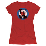 Juniors: The Who- Logo T-shirts